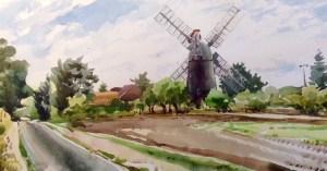 Robert Nelmes, Thelnetham windmill, Suffolk