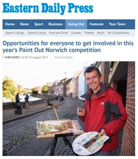 Opportunities for everyone to get involved, EDP, 15 Aug 2017