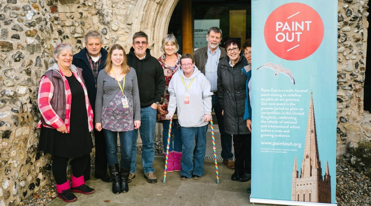 Paint Out 2015 Volunteers by Matt Dartford