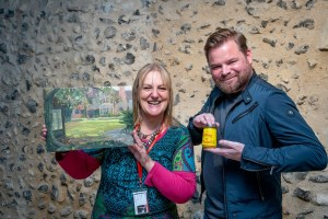 Paint Out Norwich Awards 2018, Unilever Colman's Prize. Photo credit ©Simon Finlay Photography.