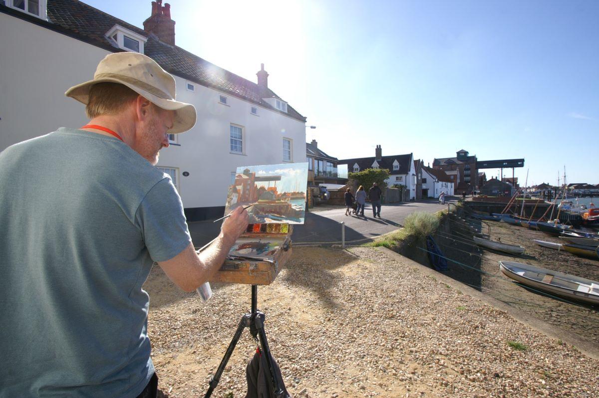 Tony Robinson Wells Quayside Norfolk POW15 by Katy Jon Went