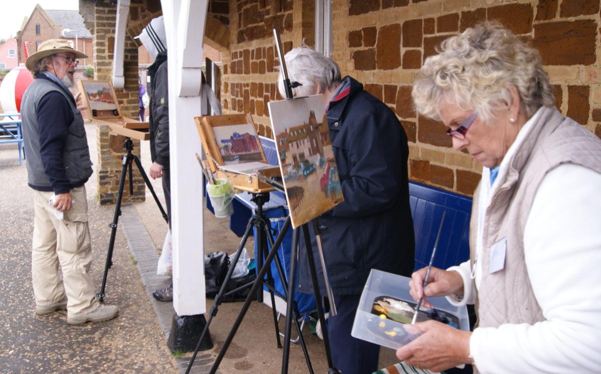 Michael Richardson Art Workshop at Paint Out Wells