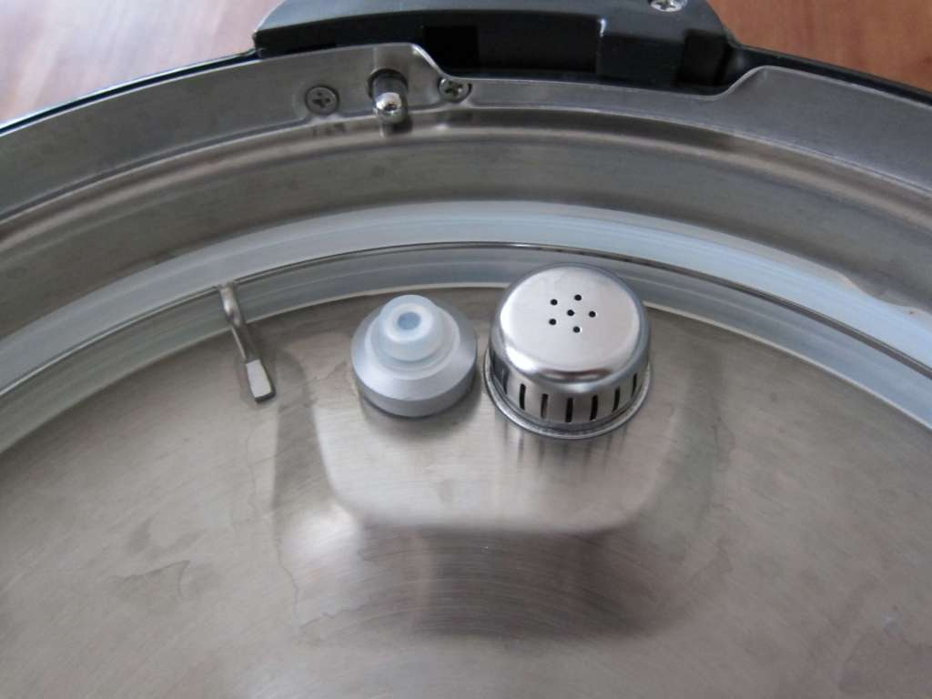 Instant Pot Manual - Inside of Lid