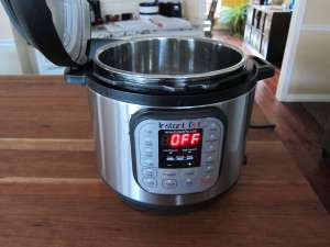 Instant Pot Manual - Water Test Lid Propped Open