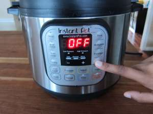 Instant Pot Manual - Water Test Press Steam
