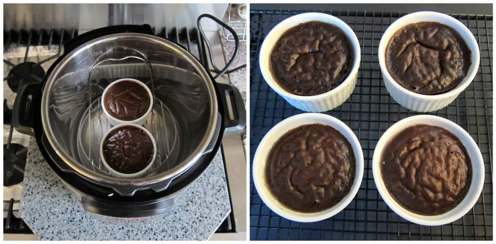 Instant Pot chocolate lava cake Instructions 6- Paint the Kitchen Red