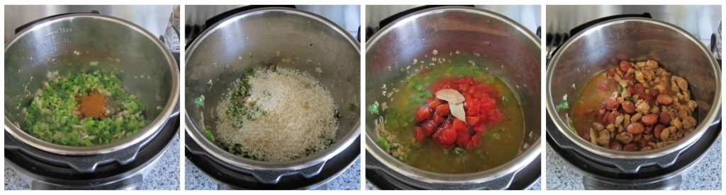 Instant Pot Jambalaya - Instructions 4- Paint the Kitchen Red