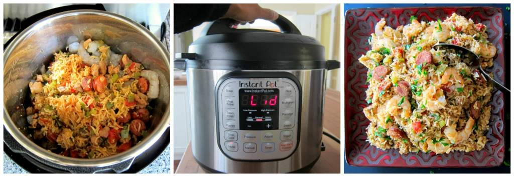 Instant Pot Jambalaya - Instructions 6 - Paint the Kitchen Red
