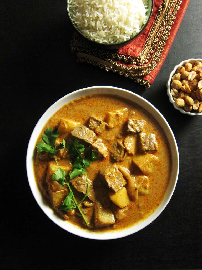 Instant Pot Massaman Curry with Beef P1 - Paint the Kitchen Red