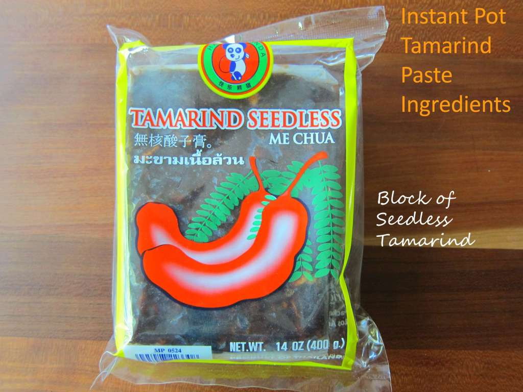 Instant Pot Tamarind Paste Ingredients - Paint the Kitchen Red