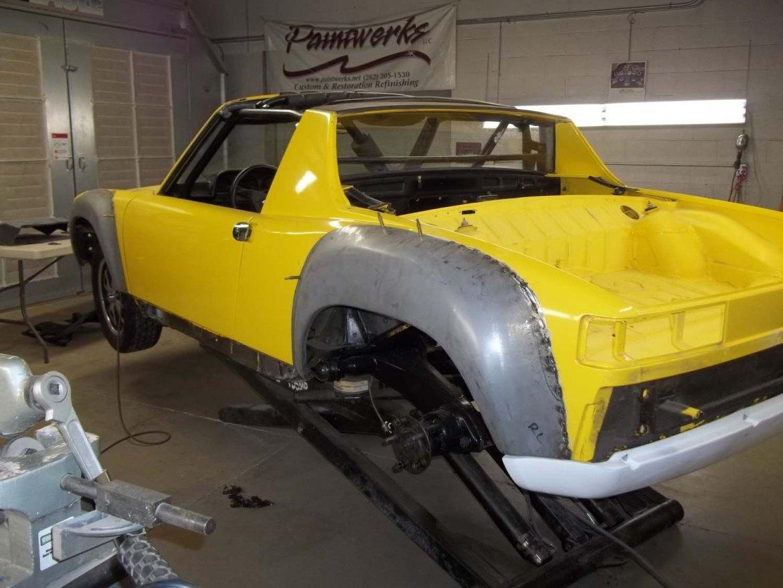 1974 Porsche 914-6 | Paintwerks Custom & Restoration Refinishing