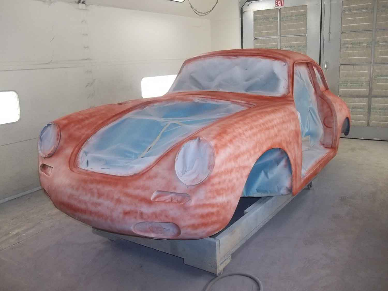 1962 356 Notchback | Paintwerks Custom & Restoration Refinishing