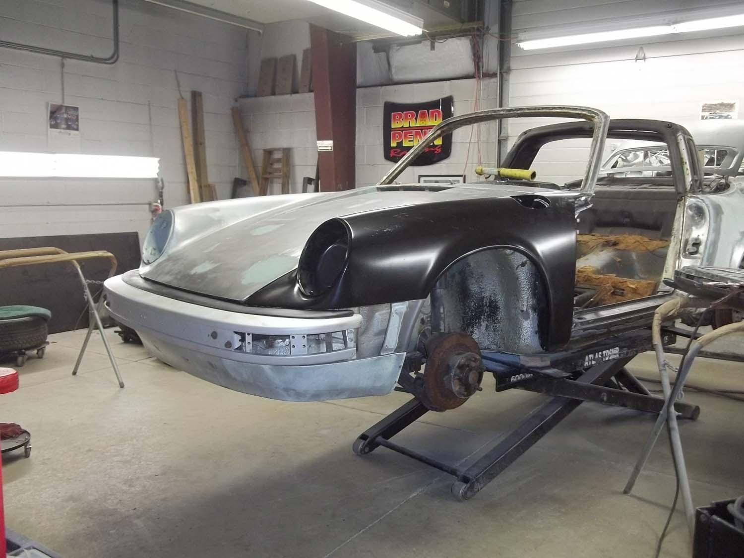 1974 911 Targa | Paintwerks Custom & Restoration Refinishing