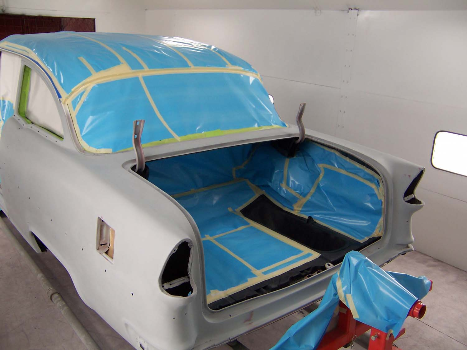 1955 Chevy Bel Air | Paintwerks Custom & Restoration Refinishing