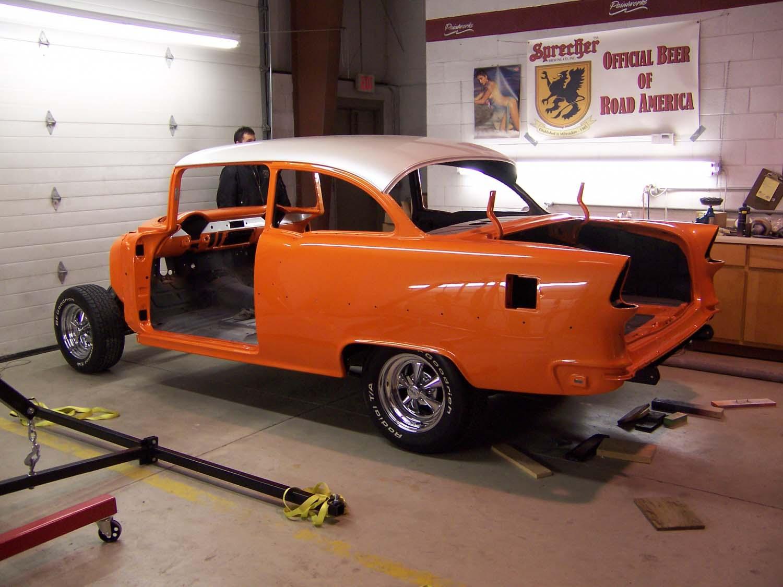 1955 Chevy Bel Air | Paintwerks Custom & Restoration Refinishing