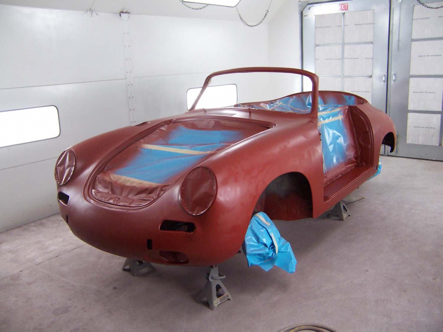 1965 Porsche 356 Cabriolet | Paintwerks Custom & Restoration Refinishing
