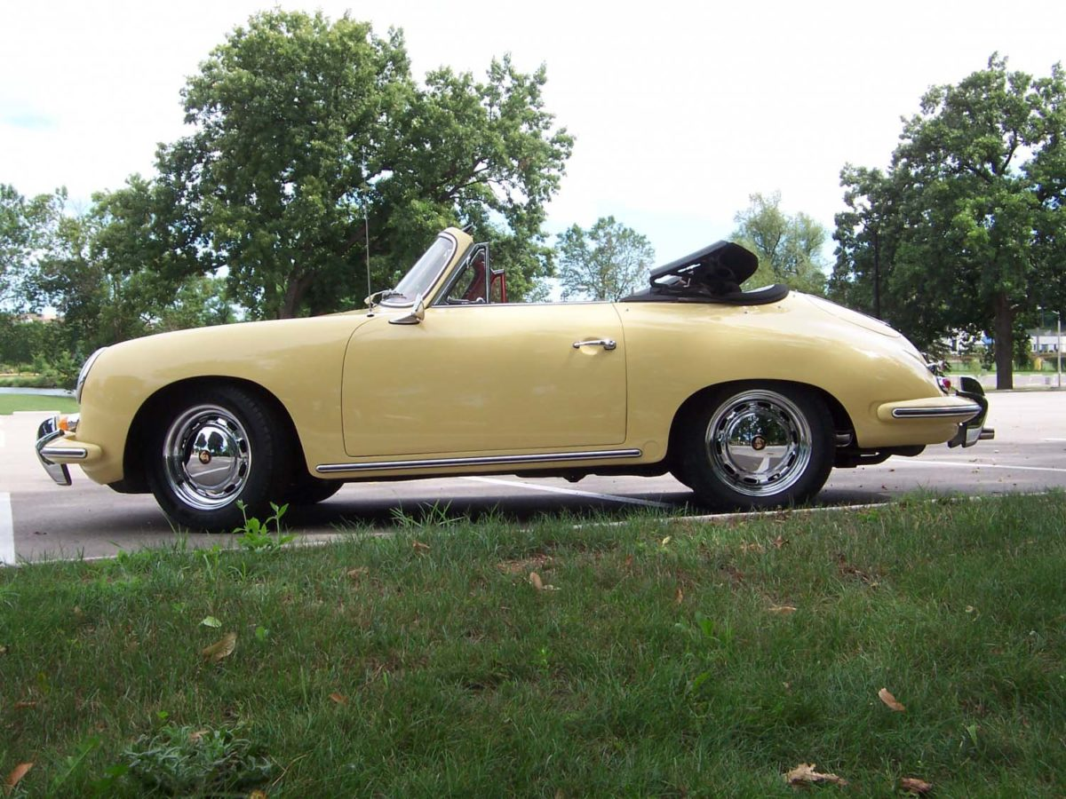 1965 Porsche 356 Cabriolet | Paintwerks Custom & Restoration Refinishing