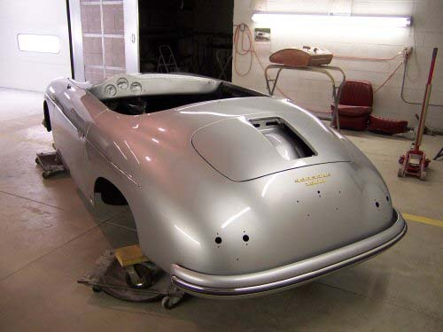 1956 Porsche Speedster | Paintwerks Customer & Restoration Refinishing