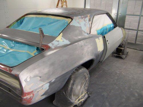 1969 396 SS Camaro   Paintwerks Customer & Restoration Refinishing