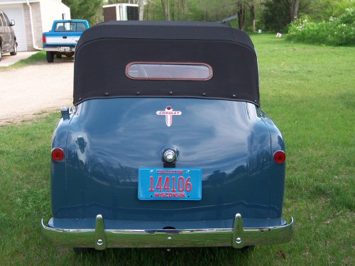 1949 Crosley Convertible | Paintwerks Custom & Restoration Refinishing