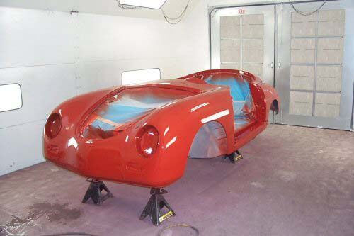 1958 Porsche Speedster | Paintwerks Custom & Restoration Refinishing