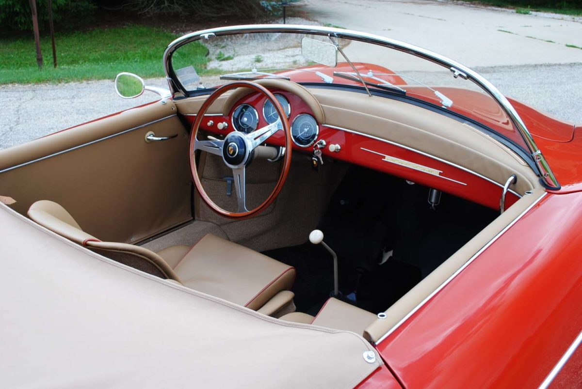 1958 Porsche Speedster | Paintwerks Custom & Restoration Refinishing