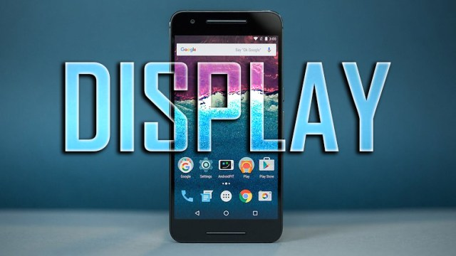 Nexus 6P Display & Features