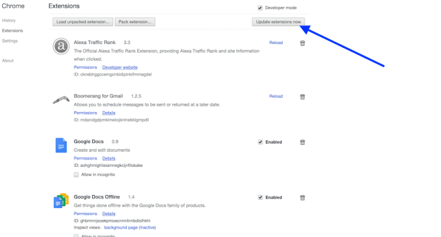how-to-update-chome-extension