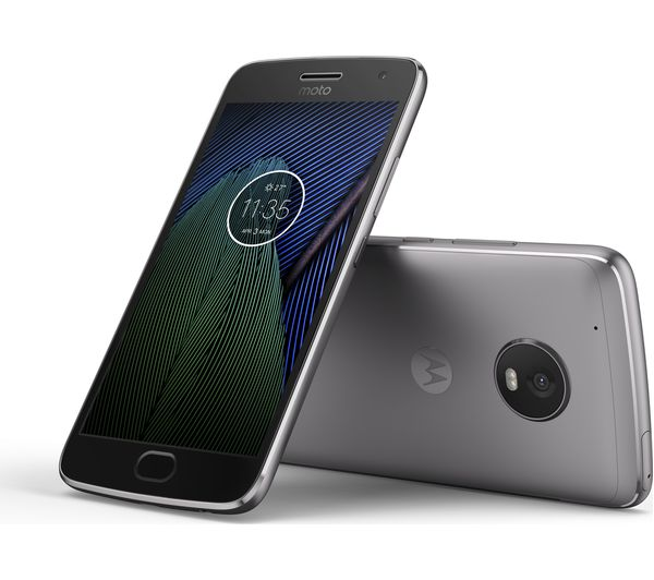 Lunar Grey Moto G5 Plus