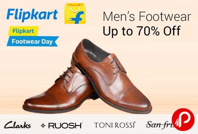 Image result for flipkart Offer : Get upto 70% off on Men's Footwears