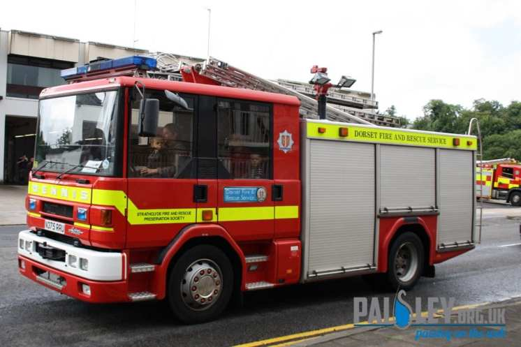 paisley fire engine rally 2012