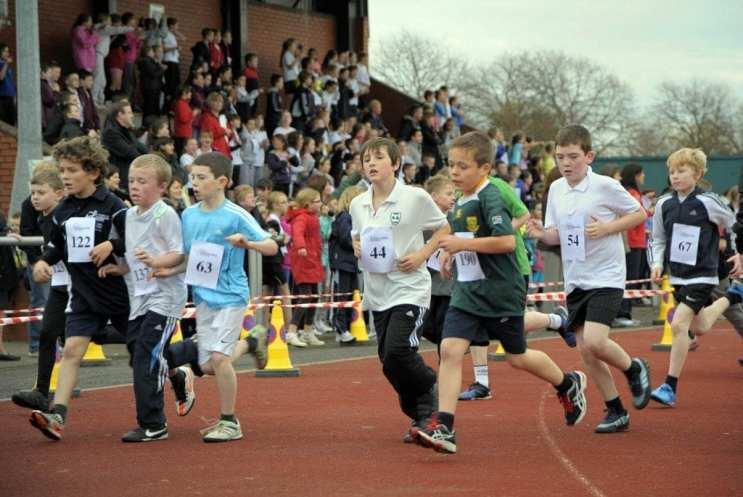 Schools road race