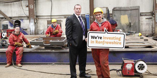 invest in renfrewshire
