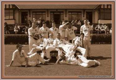 Kelburne cricket team 2013
