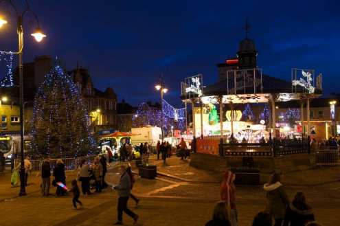 Johnstone xmas lights