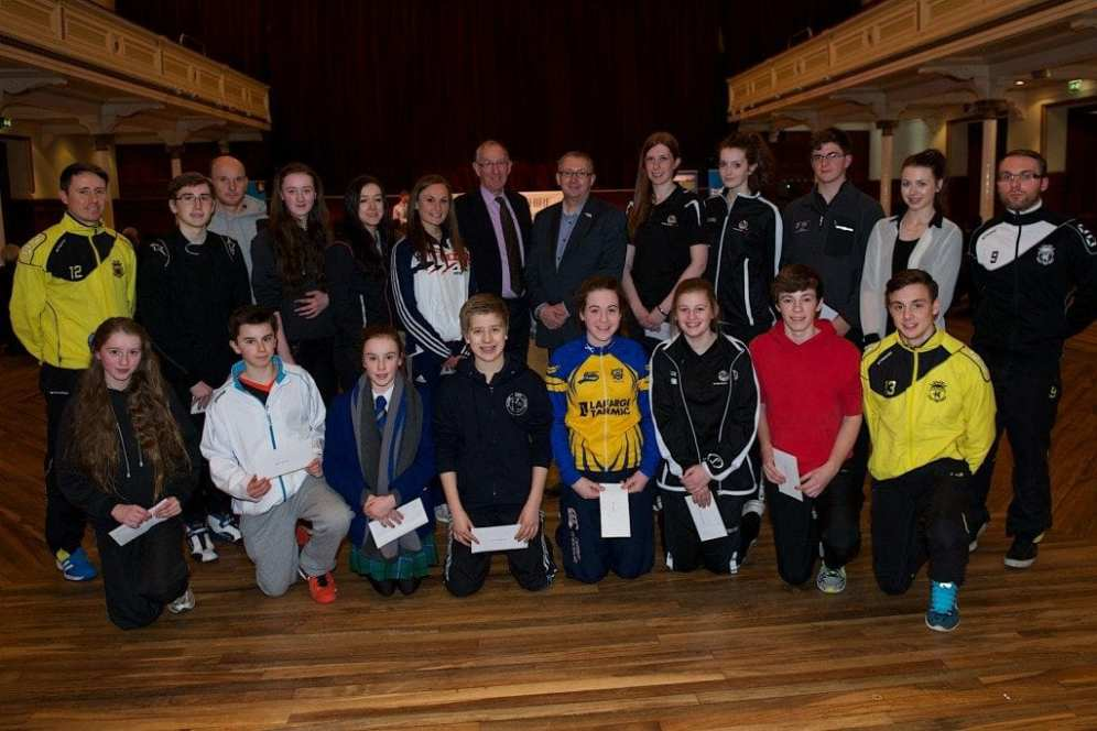 Renfrewshire's elite athletes benefiting from the fund