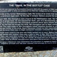 Donoghue v Stevenson Snail in a Bottle