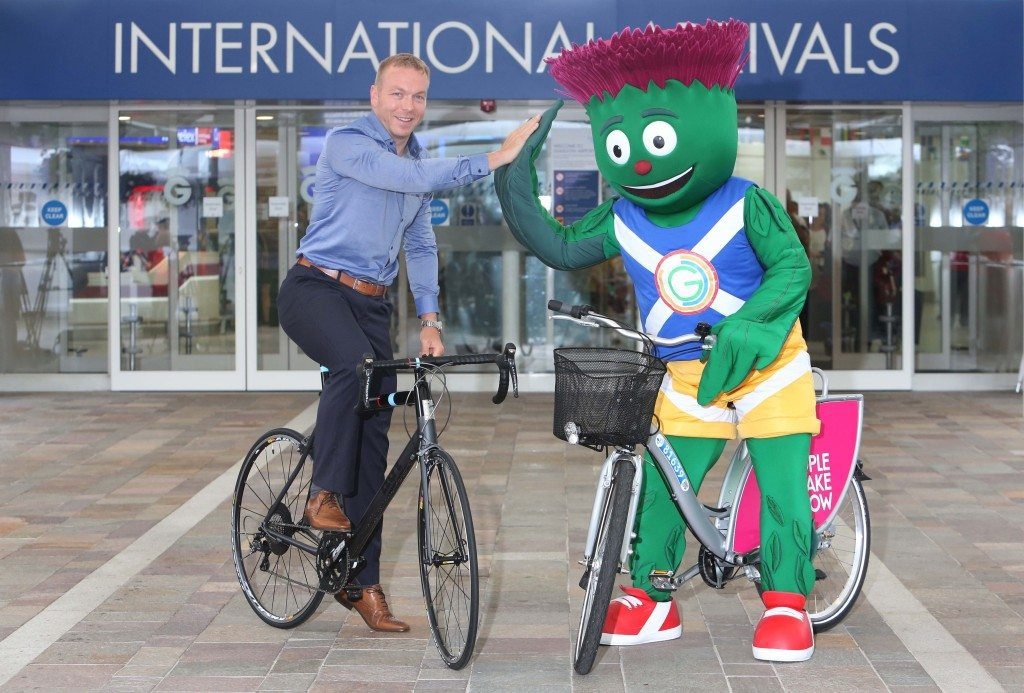 Sir Chris Hoy MBE, officially opened Glasgow Airports new look International arrivals.