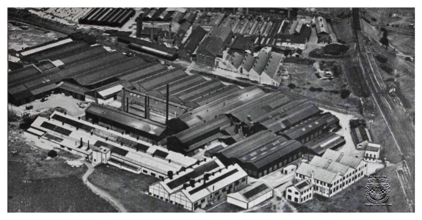 Aerial View of Tubal Works