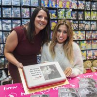 Debut album launch a piece of cake for Stacey Solomon