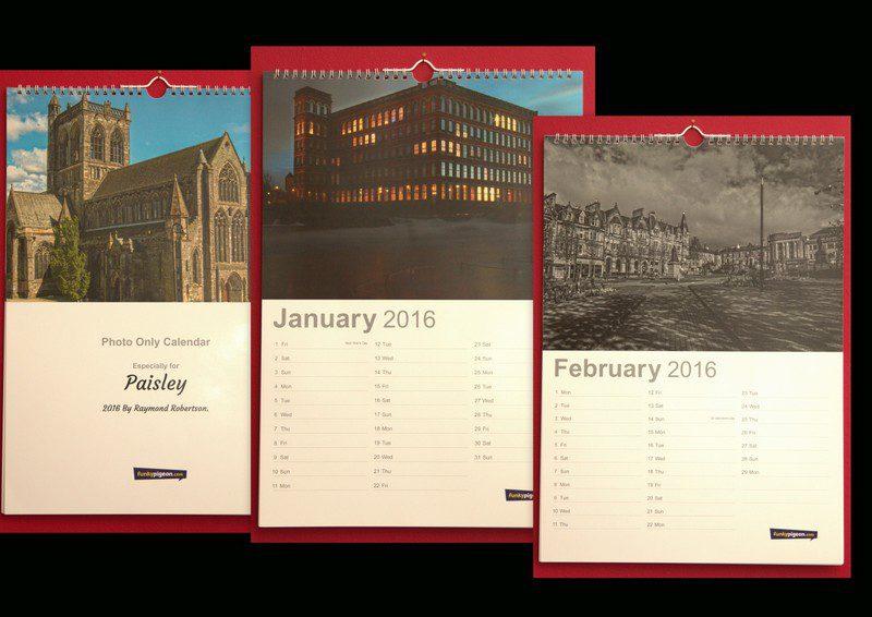 Finished Calendar 2016
