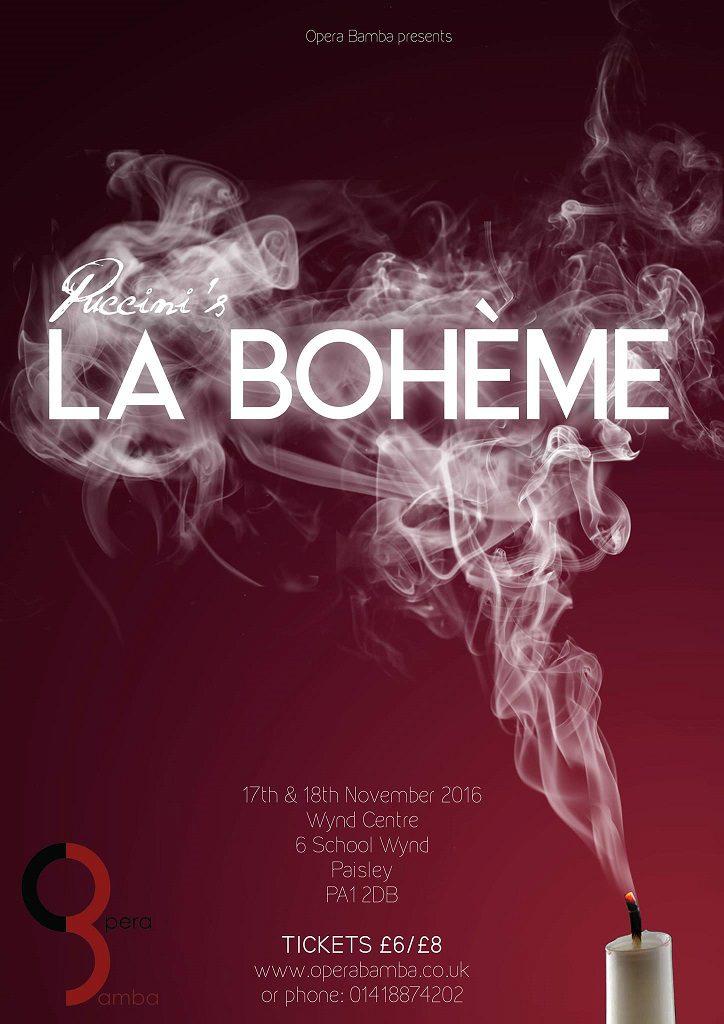 La Boheme Poster final