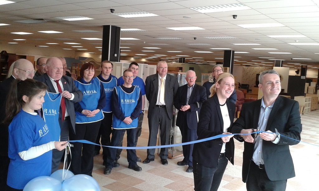 RAMH Reuse Superstore Opening 02.04.16