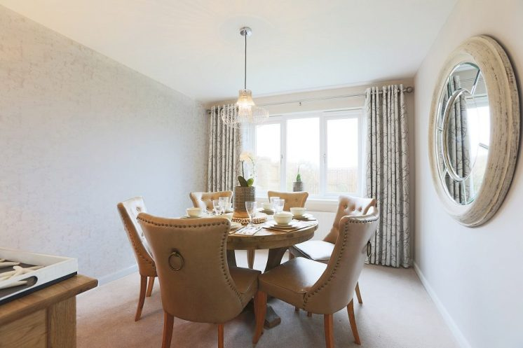 Stewart Milne Homes_Dargavel Village_Merrington Dining room - TYPICAL