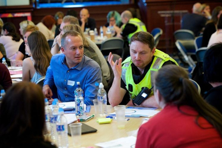 Statutory and voluntary partners discussing big issues affecting young people in Renfrewshire (42)