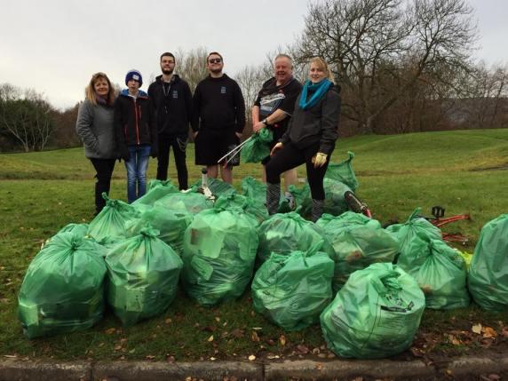 Erskine Community Garden volunteers