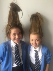 Lochfield - Hair raising fun for Leah Jones & Romey Aitken