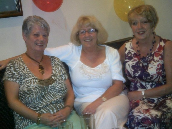May's grand daughters (Twin) Elizabeth Cosby, Margaret Houston-Tomlin & (Twin) Evelyn Blair