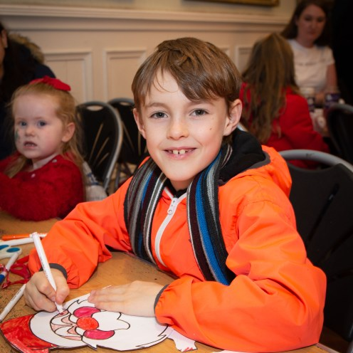 Christmas crafts in Renfrew Town Hall