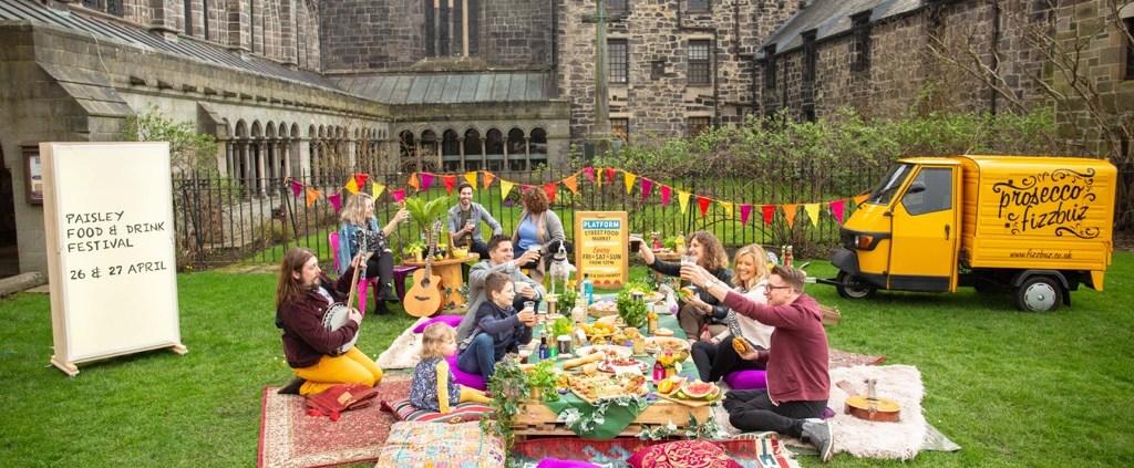 Paisley Food Festival 27.4.18